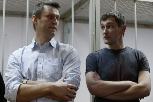 Alexey and Oleg Navalny
