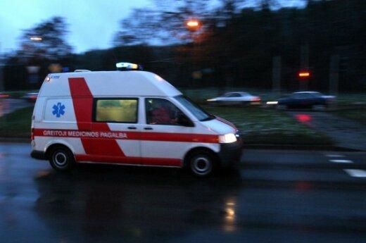 В аварии в Вильнюсском районе пострадали четыре человека