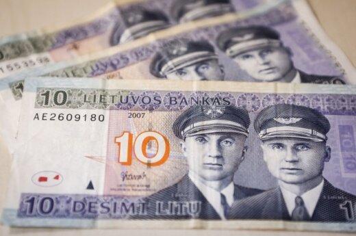 Lithuanian LGBT activists think obsolete 10-litas bill could make for suggestive souvenirs