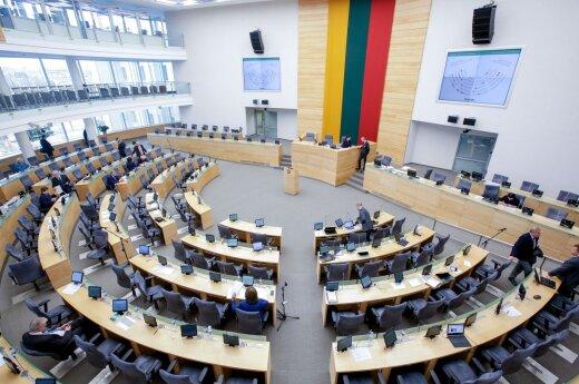 Seimas dar kartą ketina pratęsti Seimo sesiją