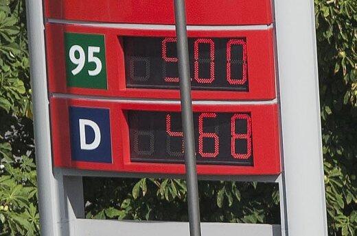 Бензин на заправках уже стоит 5 литов