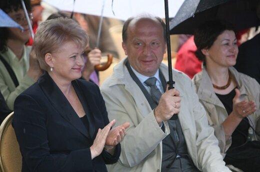 Dalia Grybauskaitė, Andrius Kubilius su žmona Rasa