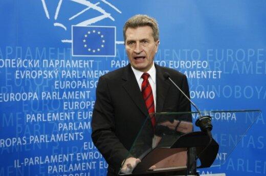 Комиссар энергетики ЕС похвалил Литву за реорганизацию газового сектора