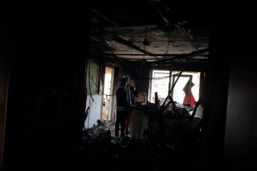 Gausią šeimą po gaisro pribloškė draudikų skaičiavimai