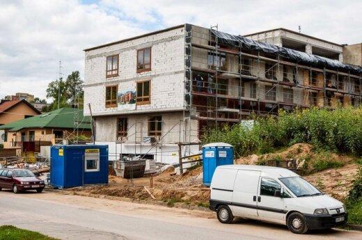 Новые квартиры в Вильнюсе раскупаются активно
