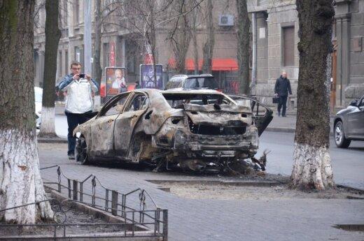 Kraupi lietuvio patirtis Ukrainoje: griuvome ant žemės, slėpėmės už bet ko