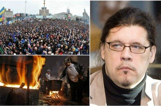 Профессор Мажейкис: Майдан впечатляет, однако закулисье слабо