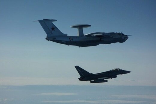 NATO fighter jets escort Russian aircraft from Lithuania