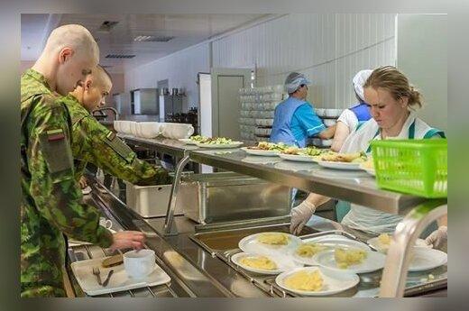 Po krišnaitų skundo Lietuvos kariuomenė ruoš vegetariškus patiekalus