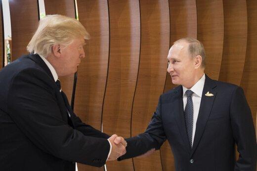 R. Bogdanas. Durys Hamburge ir V. Putinas