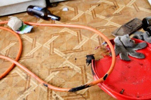 Мыши прогрызли трубку, в результате взрыва пострадали люди