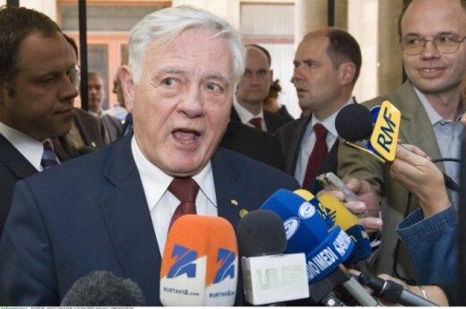 Valdas Adamkus in 2008