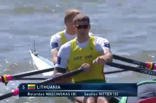Lithuanian rowers take home three medals at European Rowing Championships
