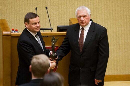 Vydas Gedvilas ir Antanas Terleckas