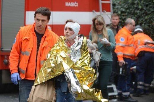 Czechy: Wybuch w centrum Pragi