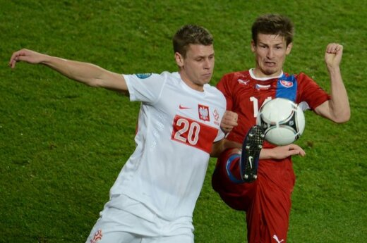 Polska – Czechy: Biało-Czerwoni odpadli z Euro 2012