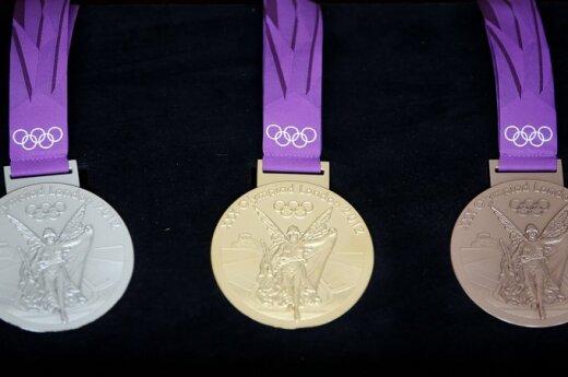 Londono žaidynių medaliai