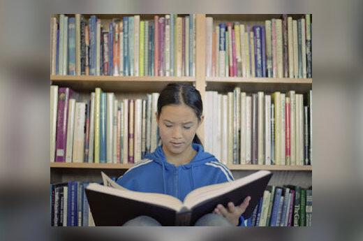 knygos, skaitymas, vaikas, mergaitė, švietimas, mokslas, biblioteka