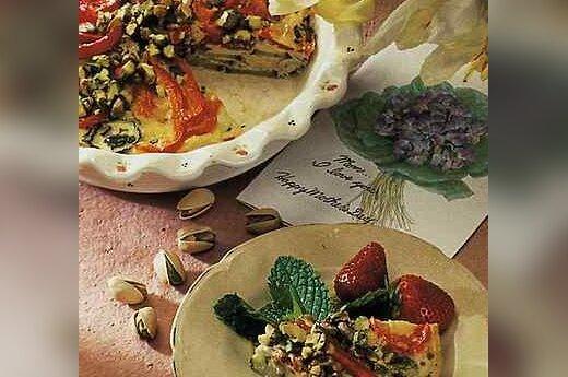 Omletas su pistacijomis