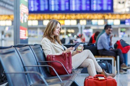 Beveik 30 proc. keliautojų sutiktų gauti mažesnę algą, jei galėtų dažniau keliauti
