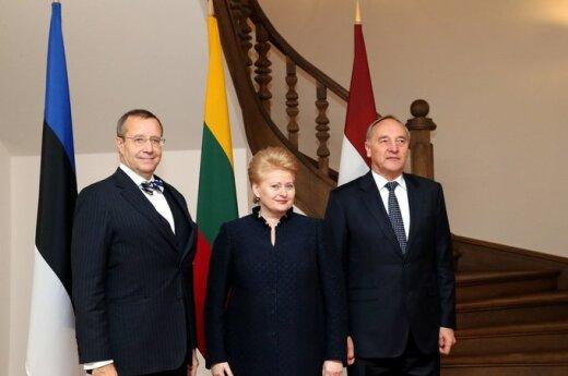Toomas Hendrikas Ilvesas, Dalia Grybauskaitė, Andris Bėrzinis