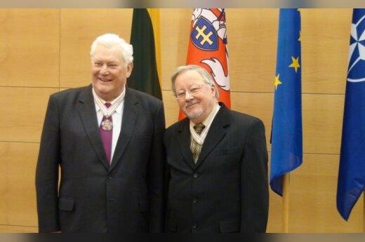 Algirdas Brazauskas ir Vytautas Landsbergis
