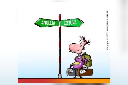 Официально в минувшем году из Литвы уехало 20 000 человек