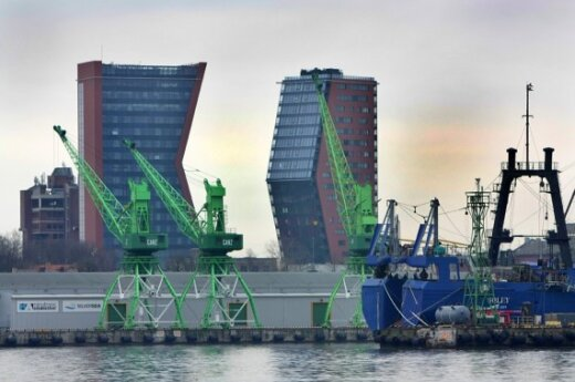 Порт Клайпеды к услугам белорусов
