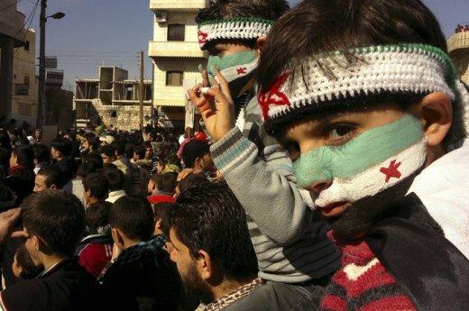 Demonstracija Sirijoje