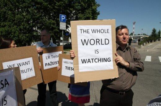 W sobotę w Wilnie odbędzie się wiec zwolenników Venckienė