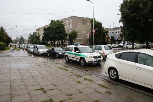 Две аварии в Каунасе: пьяный водитель и сбитый ребенок