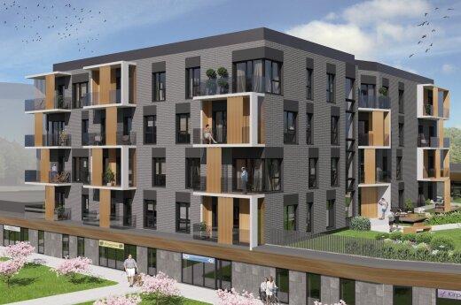 Vilniaus centre kyla prabangūs apartamentai