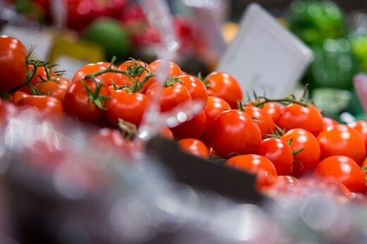 <div>Mokslininkai sukūrė kitokius pomidorus: pamatysite skirtumą tik atsikandę</div>