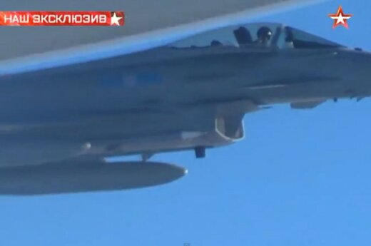 Истребители британских ВВС сопроводили самолеты РФ