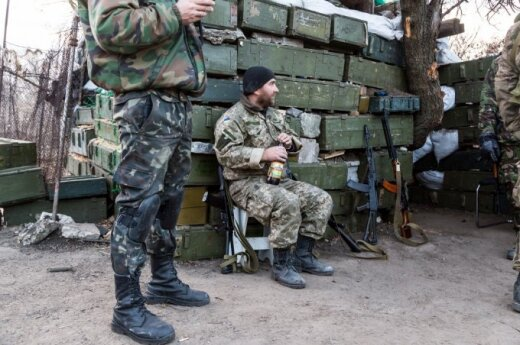 Lithuanian government says it support Ukrainian military within its means