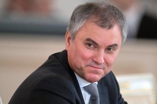 Володин поддержал перенос выборов президента на день аннексии Крыма