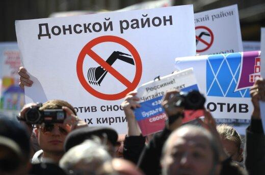 Protestas Maskvoje