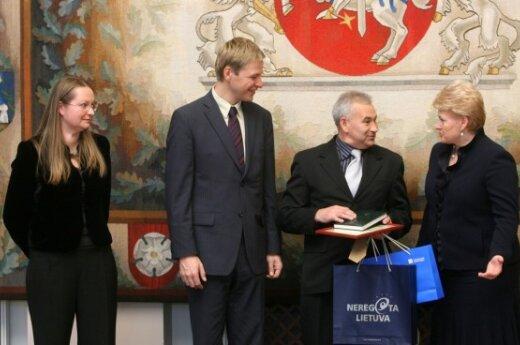 Iš kairės: Jurga Eivaitė, Remigijus Šimašius,  Vidas Stankevičius ir Dalia Grybauskaitė