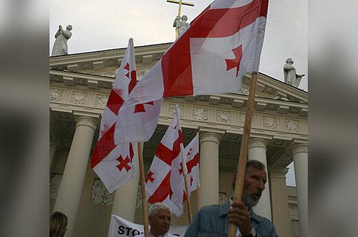 Mitingas prieš Rusijos agresiją Gruzijoje