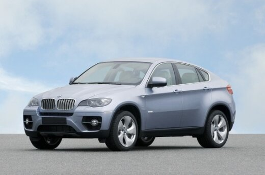 BMW X6 ActiveHybrid modelis