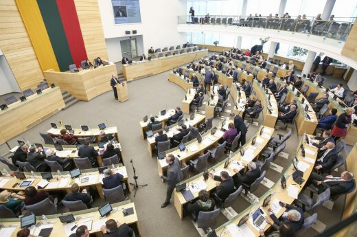 Lithuanian parliament opens autumn session