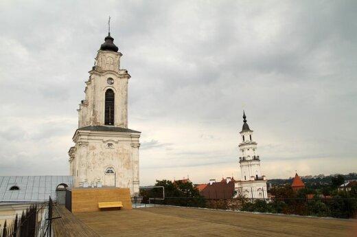 Jėzuitų bažnyčios terasa