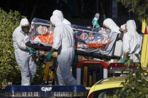 Į Ispaniją atskraidintas Ebolos virusu užsikrėtęs pastorius