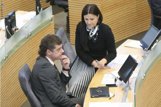 Žilvinas Šilgalis ir Agnė Zuokienė