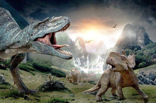 Dinozaurai neturėjo šansų: naujas modelis rodo - Saulė turėjo blogąją dvynę