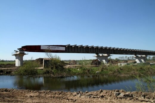 Delays reported in Panemunė-Kaliningrad bridge project