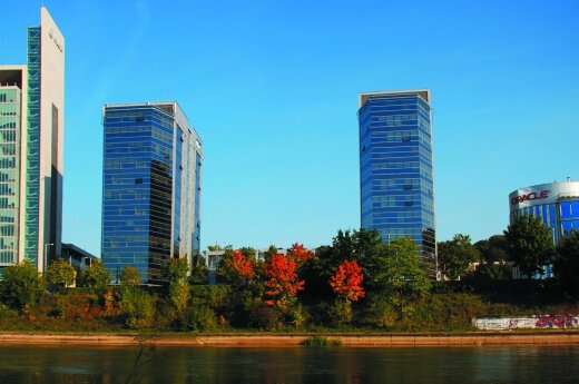 Business centre boom spreads across Vilnius