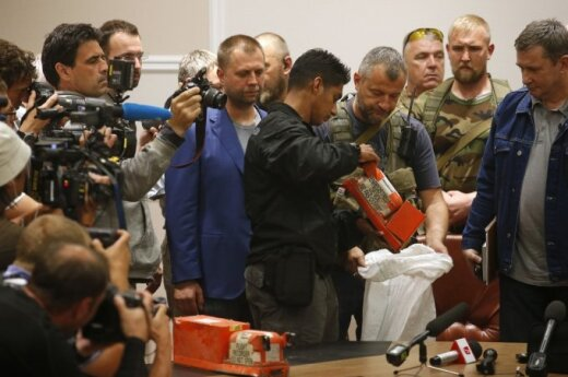 """""""120s"""": Ukraine separatists hand over MH17 black boxes while Vilnius prepares for invasion from Zagreb"""