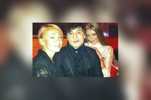Яна Рудковская, Дима Билан, Юлиана Крылова. Фото: twitter.com/BilanOfficial