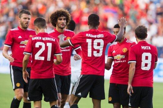 "Draugiškas mačas: ""Manchester United"" - ""Galaxy"""
